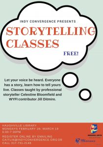 Storytelling Classes @ Haughville Branch Library | Indianapolis | Indiana | United States
